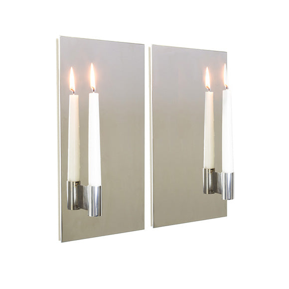Candle Wall Sconce - Pair