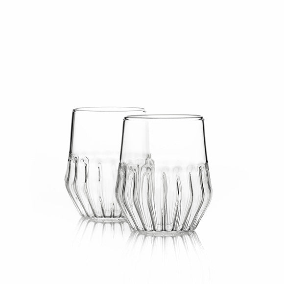 Mixed Small Glass - Set of 2