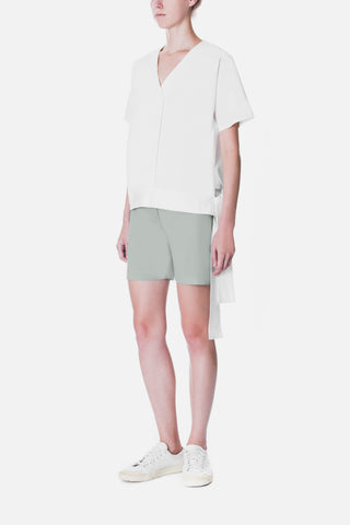 TAILORED TWILL SHORTS