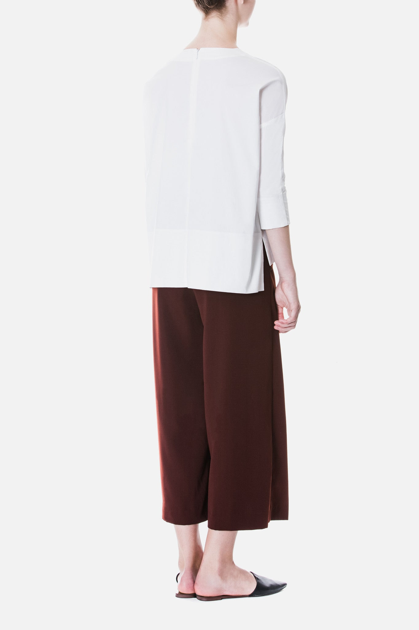 Panelled Crepe Culottes