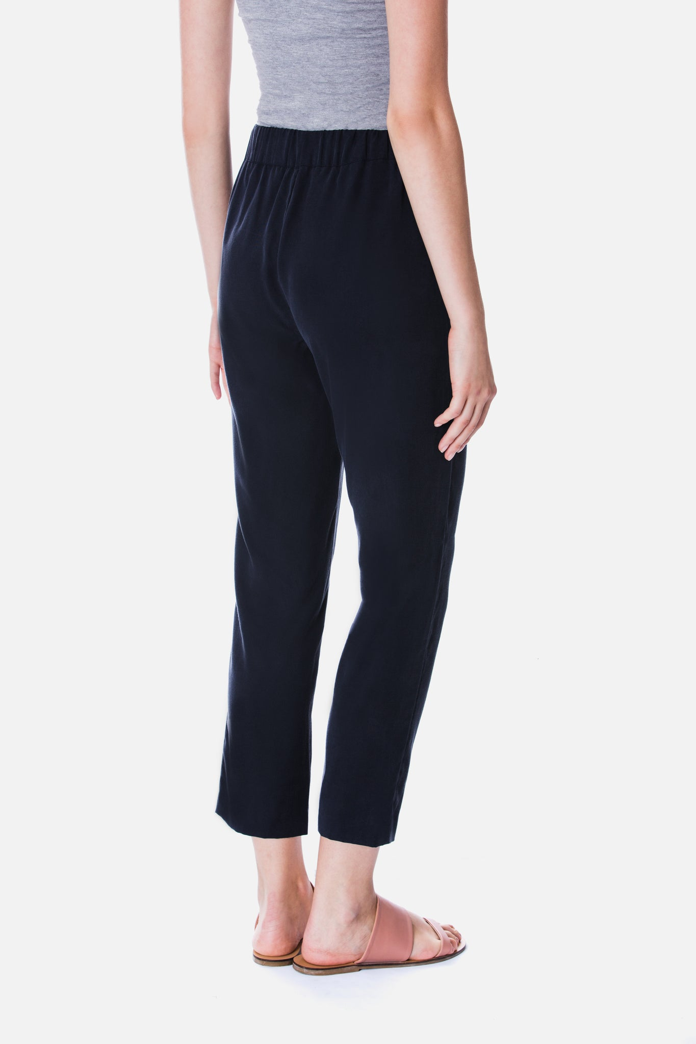 TENCEL TAPERED TROUSER