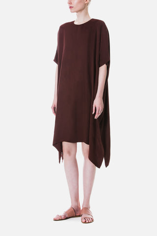 DRAPED SQUARE DRESS