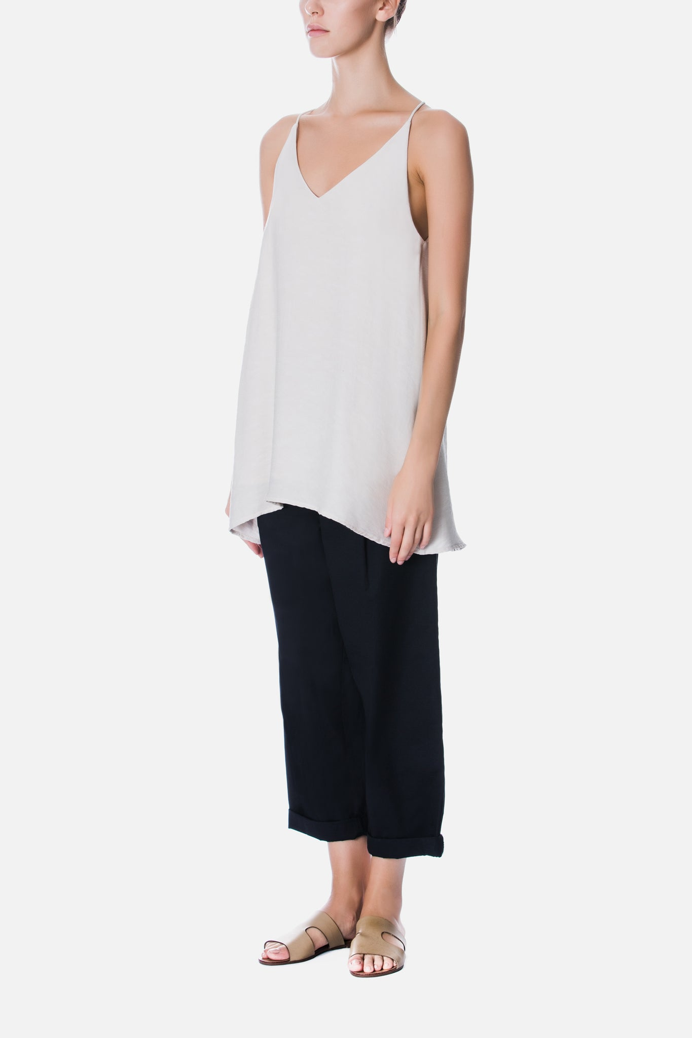 V NECK CAMISOLE TOP
