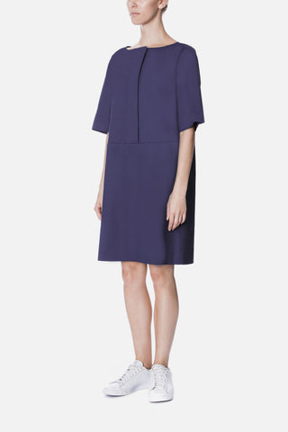 WIDE PLACKET SHIFT DRESS