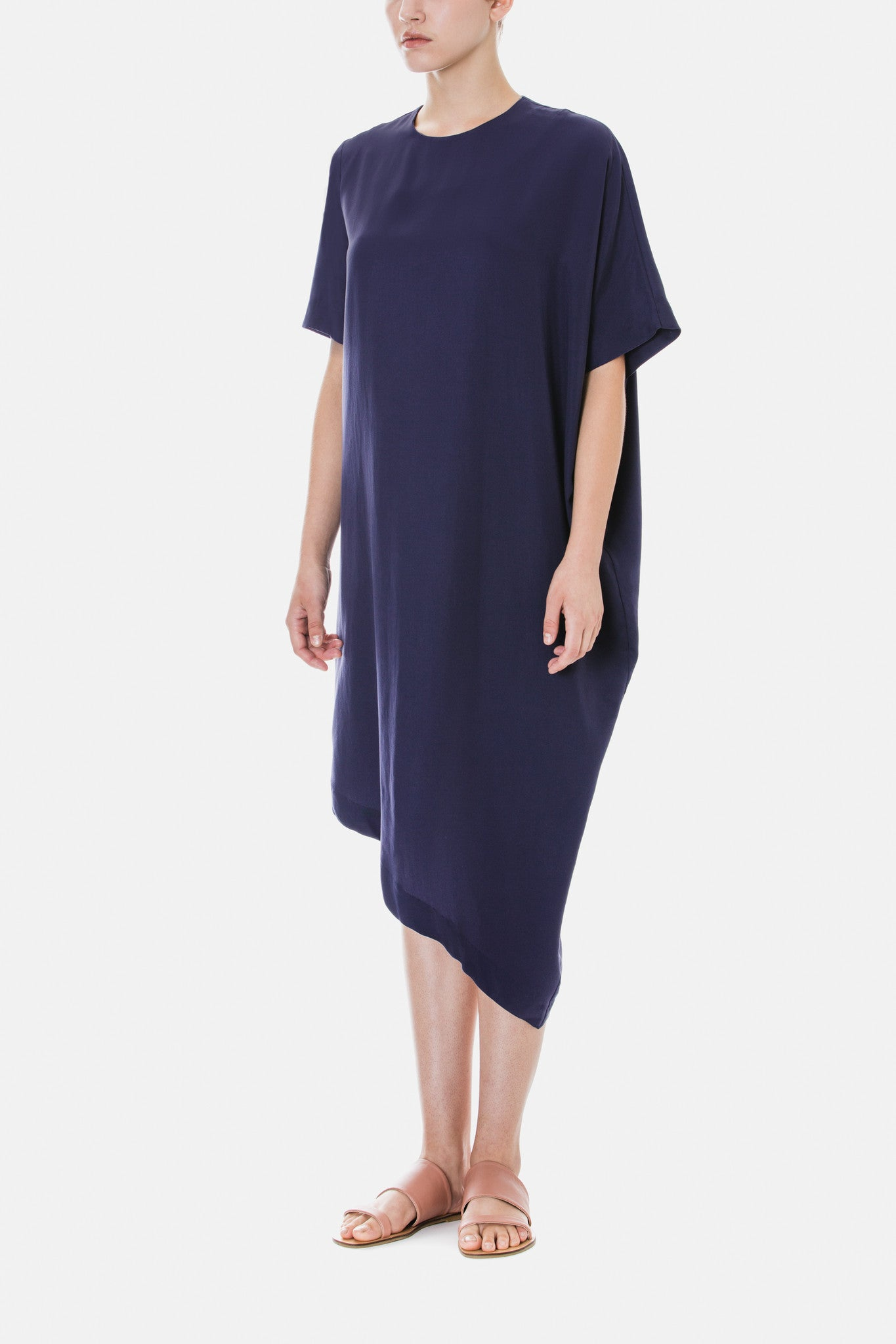 Asymmetrical Tencel Dress