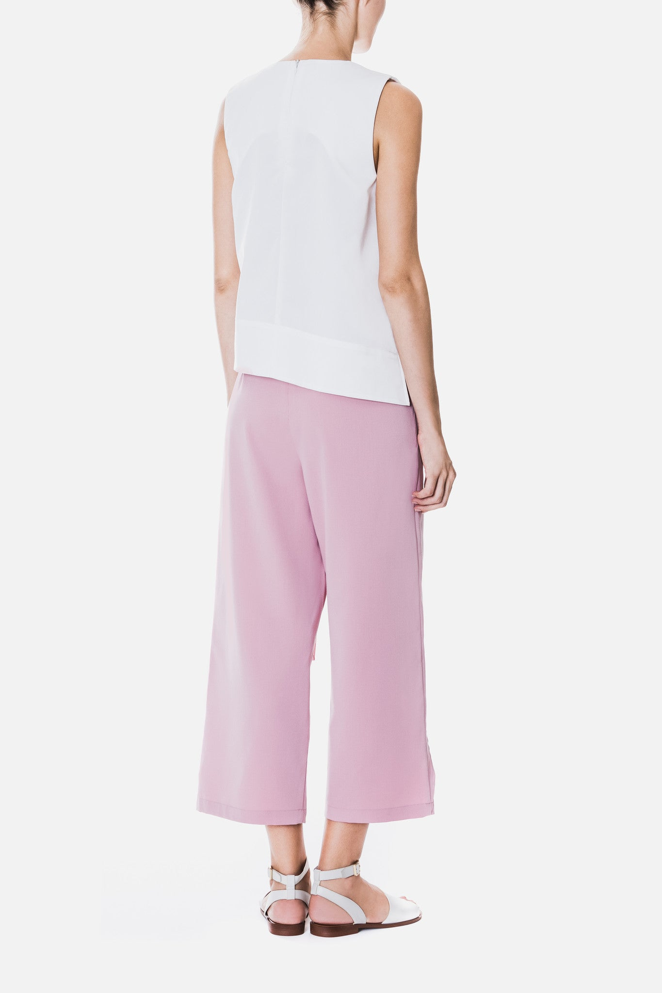 Front Wrap Trousers