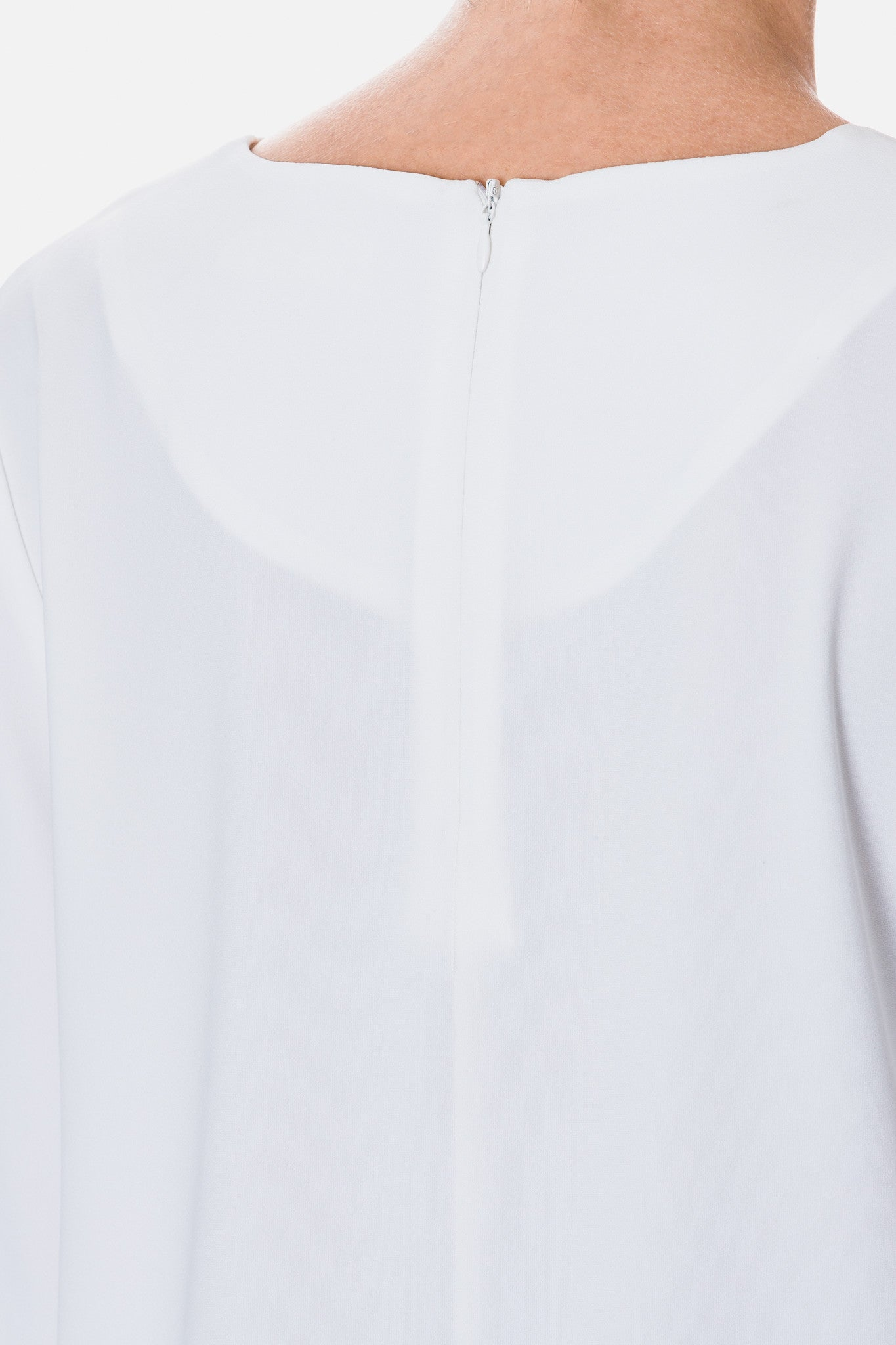 Top with Pleated Sleeve