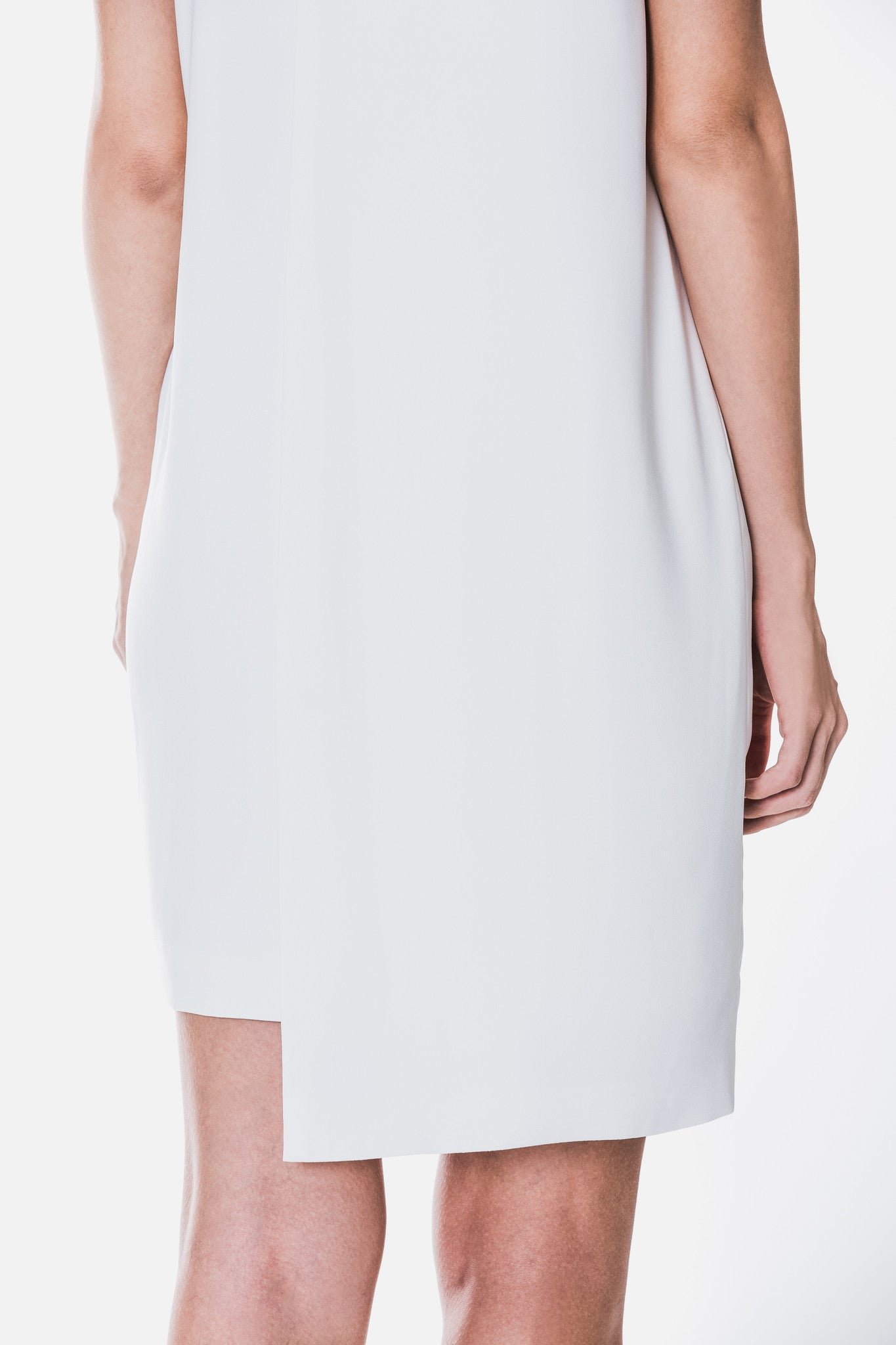 Layered Panel Shift Dress