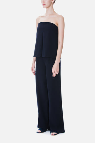 LAYERED WIDE LEG JUMPSUIT