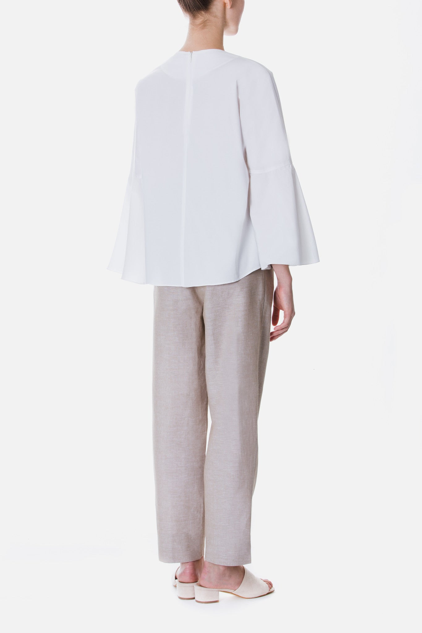 RELAXED LINEN TROUSERS
