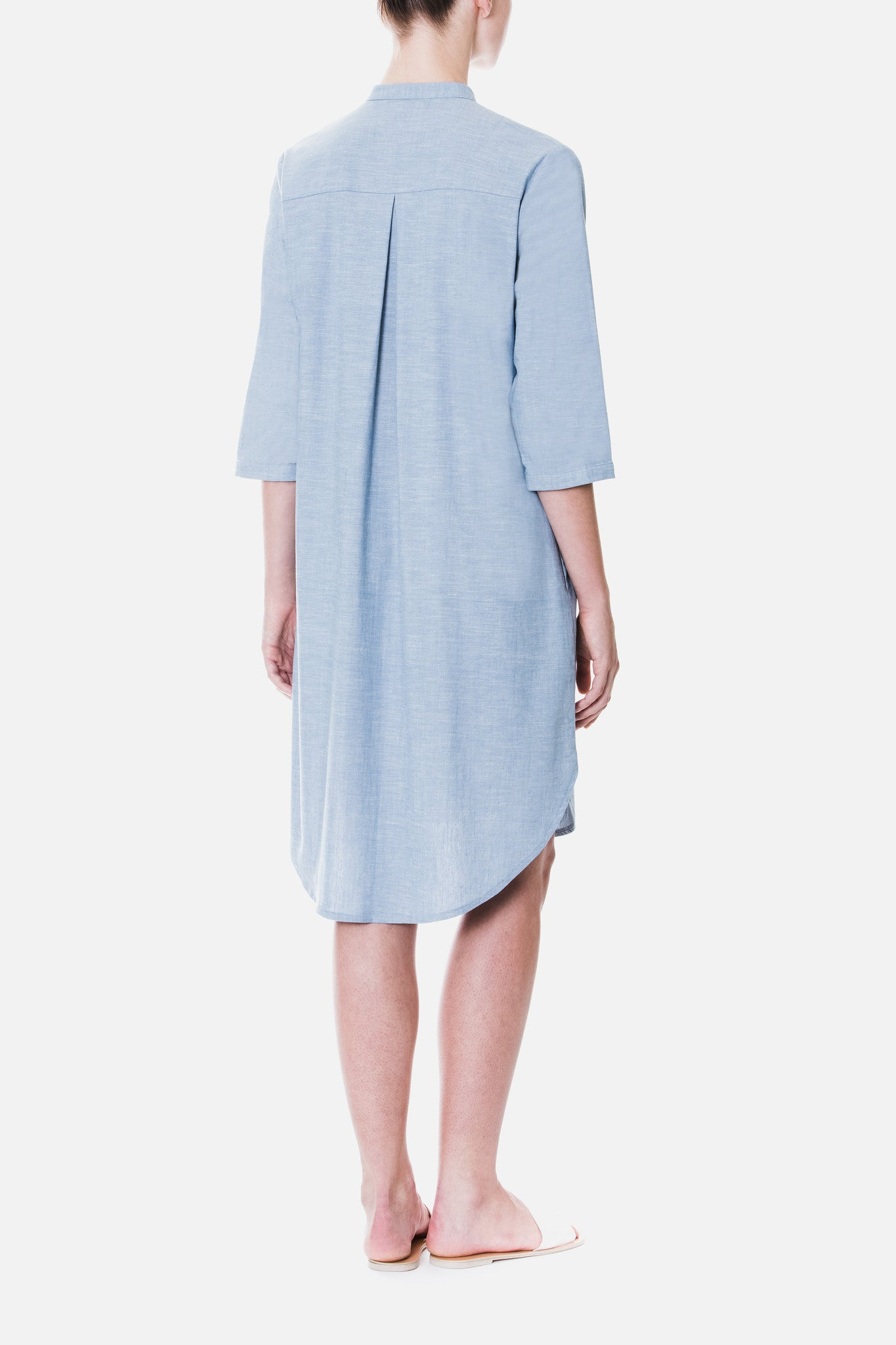 Straight Cut Shirt Dress
