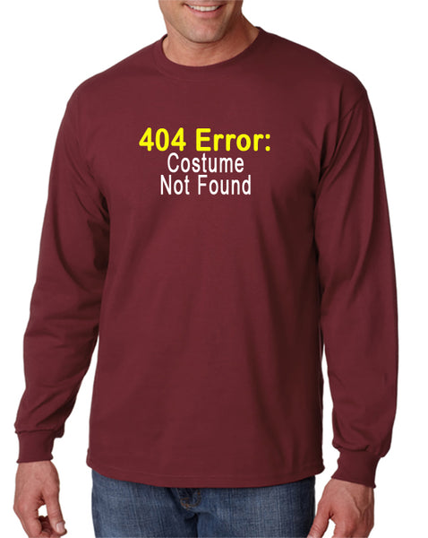 404 Error: Costume Not Found T-shirt