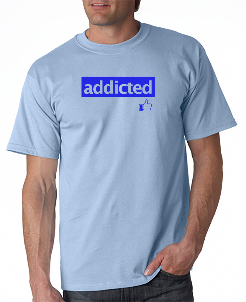 Addicted to Facebook T-shirt