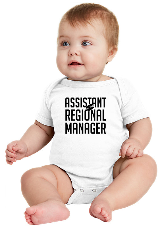 Asst. to the Regional Manager The Office Baby Bodysuit