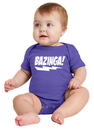 Bazinga! Baby Bodysuit inspired by Big Bang Theory