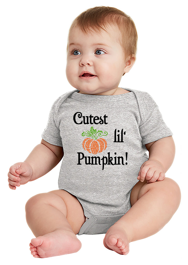 Cutest Lil Pumpkin Baby Bodysuit