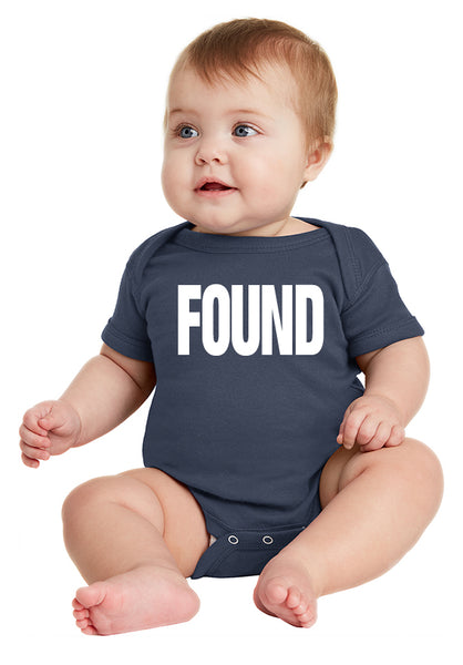 FOUND Infant Onesie inspired by the series LOST