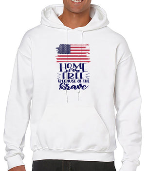 Home of the Free Because of the Brave - T-shirt/Hoodie