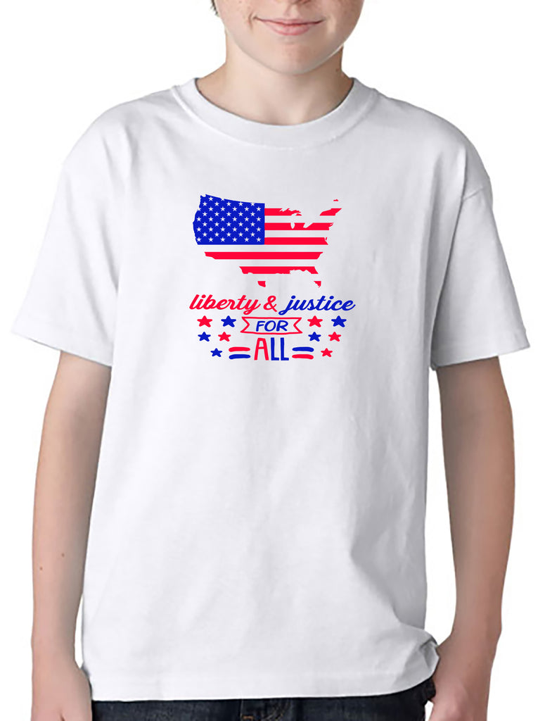 Liberty and Justice for All - YOUTH T-Shirt/Hoodie