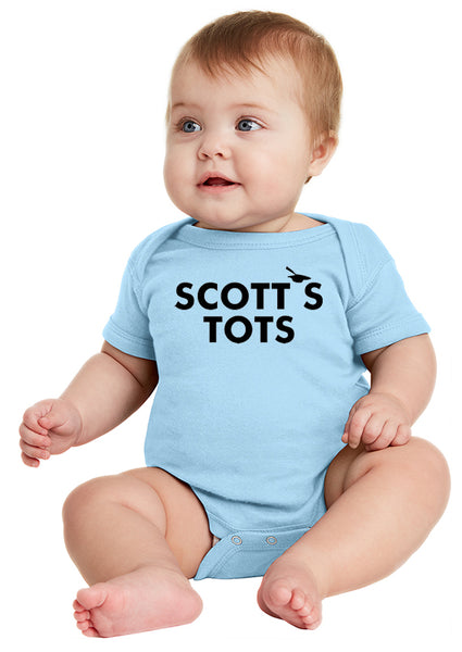 Scotts Tots Onesie inspired by The Office TV Show