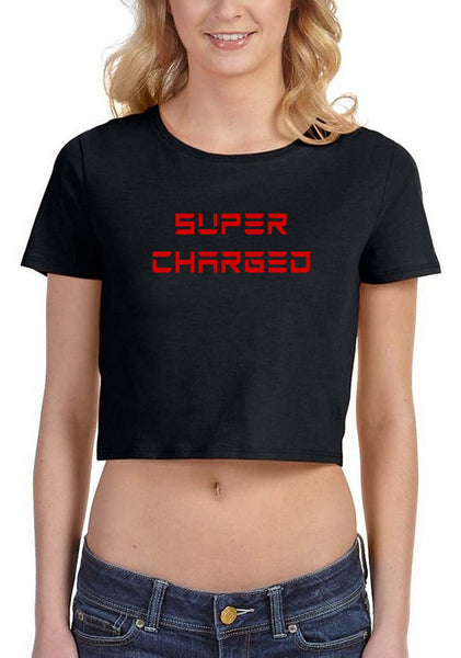 Super Charged Junior's Crop Top - LIMITED QUANTITY!!