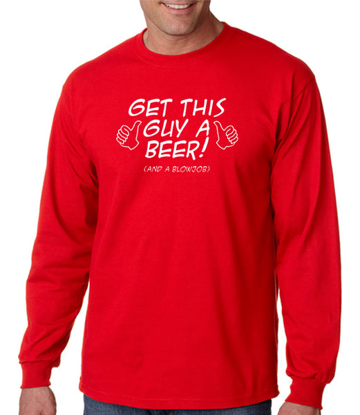 Beer and Blowjob T-shirt