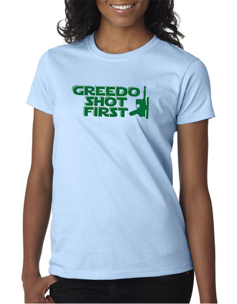 Greedo Shot First T-shirt