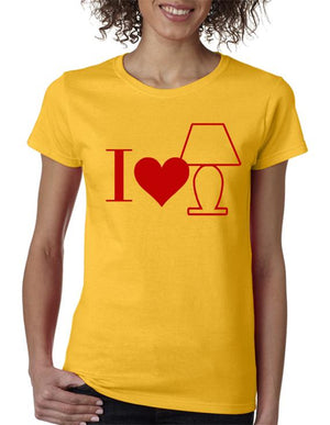 I Love Lamp t-shirt Anchorman Inspired