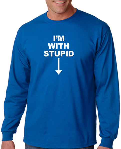 I'm With Stupid (next to me) T-shirt