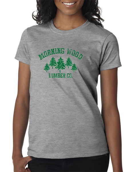 MorningWood Lumber Co. T-shirt