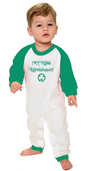 My Little Leprechaun Infant Romper