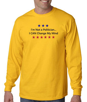 Not a Politician T-shirt Perfect Shirt for the Midterm Elections!