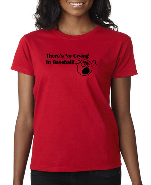 a7dcb51fd There's No Crying In Baseball T-shirt - A League of Their Own T-shirt