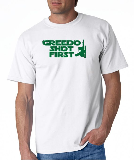 SALE | Greedo Shot First T-shirt