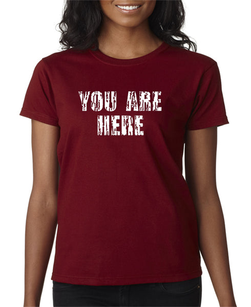 You Are Here T-shirt - Entourage Tee Shirt