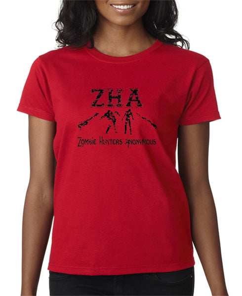 Zombie Hunters Anonymous T-shirt