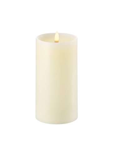 Led Verlichting - Pillar Candle (with shoulder) 8 x 15