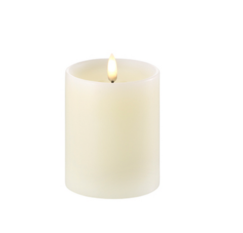 Led Verlichting - Pillar Candle (with shoulder) 8 x 10