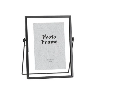 AIMEE PICTURE FRAME BLACK - L17XW7XH20CM