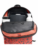 LITTLE LEGENDS CARLIJNQ SPOTTED ANIMAL BACKPACK ROESTBRUIN/ROOD
