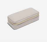 "STACKERS CLASSIC ""ETUI TRAVEL BOX"" IN TAUPE & GREY"