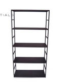 Haans - Cabinet Iron Structure Matt Black 5 Shelves