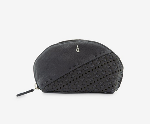 Abbacino - KIM, SMALL WOMEN'S BLACK COW LEATHER COIN PURSE