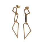 3 FOR EVIGT - MISANI Earrings medium Gold, steel, 5 cm