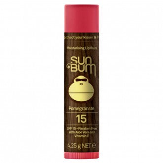 Sun Bum SPF 15 Pomegranate Lip Balm - Groms HQ