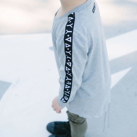 Adam + Yve - Grey Long Sleeve - Groms HQ