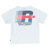 Rusty Brighton Short Sleeve Tee Tots - Groms HQ