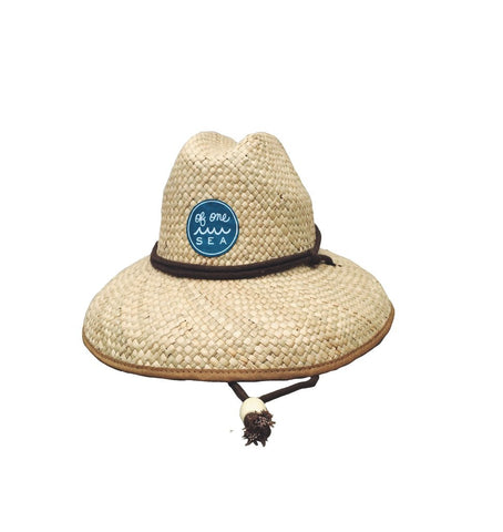 Of One Sea - Children's San Onofre Straw Hat - Groms HQ