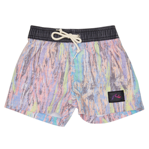 Rusty Tots Resin Elastic Boardshort - Groms HQ