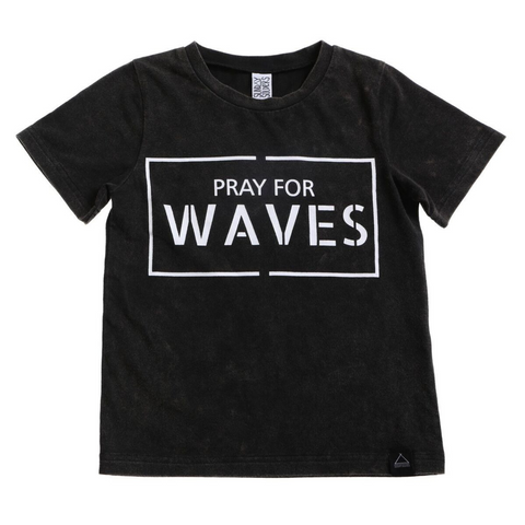 Sunday Soldiers - Pray For Waves Tee - Groms HQ